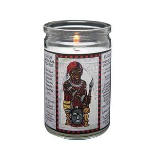 eleggua seven african powers voodoo candle