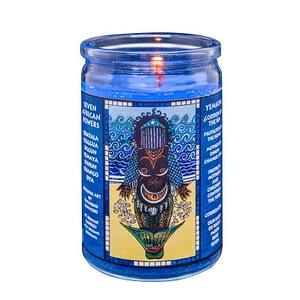 yemaya seven african powers voodoo candle